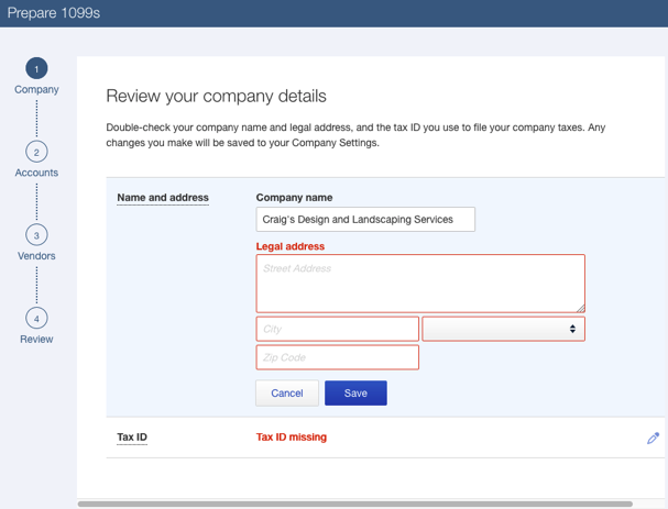 How To Setup Vendors For 1099 In Quickbooks Online