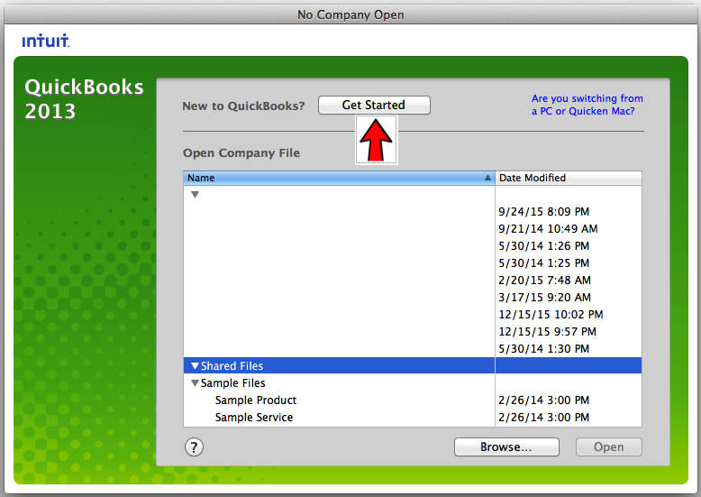 How to setup a new company in QuickBooks for Mac