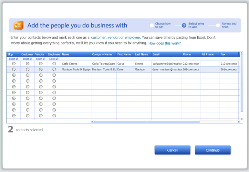 how to create a new company in quickbooks